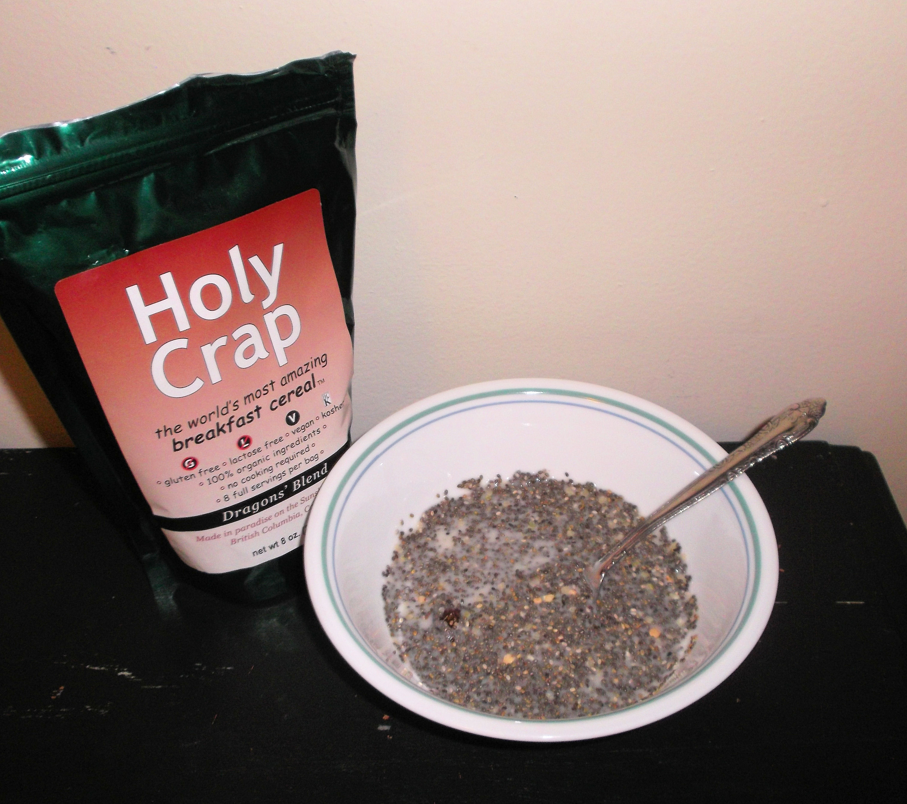 Holy Crap! This is GREAT cereal!
